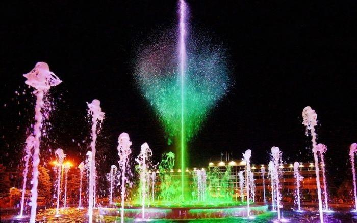 фонтан в анапе