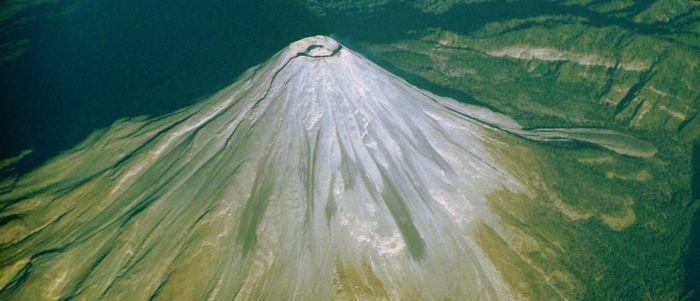 вулкан в Мексике